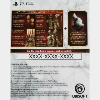 Assassin's Creed Odyssey Deluxe Edition Upgrade + Preorder Bonus