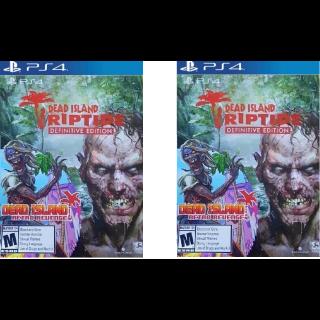 Dead Island Riptide & Retro Revenge. . . 2 of them.