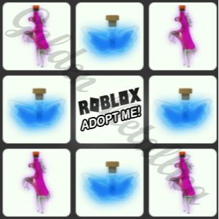 Potion   x4 fly + x4 ride potions