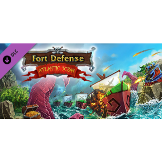 Fort Defense - Atlantic Ocean DLC - STEAM KEY Instant Delivery