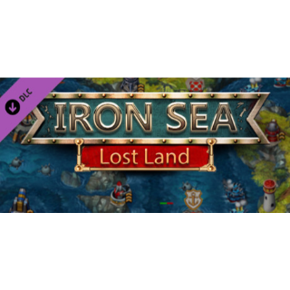 Iron Sea - Lost Land DLC -STEAM KEY Instant Delivery
