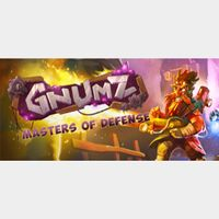 Gnumz Masters of Defense - STEAM KEY Instant Delivery
