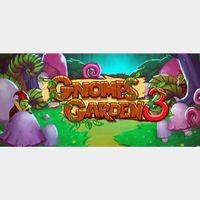 Gnomes Garden 3 The Thief of Castles - STEAM KEY Instant Delivery