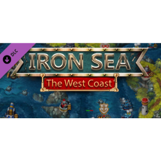 Iron Sea - The West Coast DLC - STEAM KEY Instant Delivery