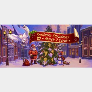 Solitaire Christmas Match 2 Cards - STEAM KEY Instant Delivery