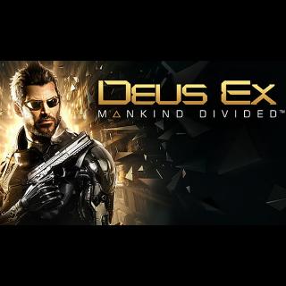 Deus Ex: Mankind Divided™ - Digital Deluxe Edition Steam Key ROW