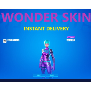 Code | Fortnite Wonder skin - Auto Delivery