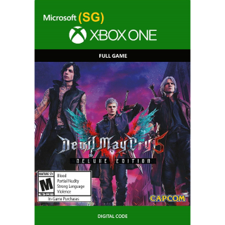 Devil May Cry 5 Deluxe Edition (SG) (2019) Auto-Delivery