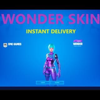 Code | Wonder skin - Instant