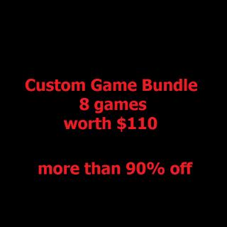 Custom Game Bundle with 8 games