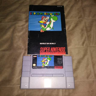 Super Mario World w manual