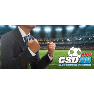 CLUB SOCCER DIRECTOR PRO 2020  PC Cd Key Steam Global (instant delivery)