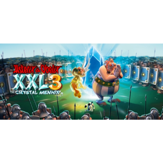Asterix & Obelix XXL 3 - The Crystal Menhir  Cd Key gog Global (instant delivery)