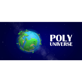 POLY UNIVERSE  PC Cd Key Steam Global (instant delivery)