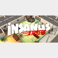 INSANUS EXPRESS  PC Cd Key Steam Global (instant delivery)