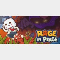 RAGE IN PEACE  PC Cd Key Steam Global (instant delivery)