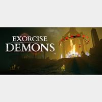 EXORCISE THE DEMONS  PC Cd Key Steam Global (instant delivery)