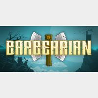 BARBEARIAN  PC Cd Key Steam Global (instant delivery)