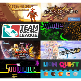 Action Bundle (8 GAMES!) Instant delivery