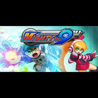 Mighty No. 9 with Retro Hero, Ray, and Golden Hero DLC