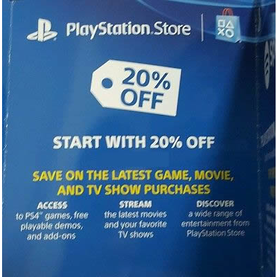 20% Playstation store PSN discount code - PlayStation Store