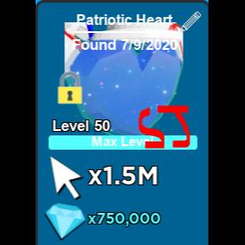 Pet   Patriotic Heart