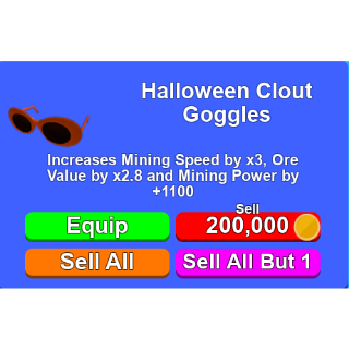 Other | Halloween Clout Goggles
