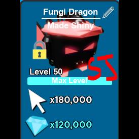 Pet   Shiny Fungi Dragon