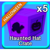 Other | 5 Haunted Hat Crates