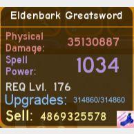 Other   Eldenbark Greatsword