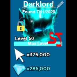 Pet   Darklord Clicking Legend
