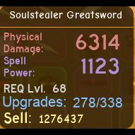 Other   SoulStealer Greatsword