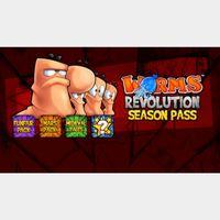 Worms Revolution Season Pass Steam Key GLOBAL