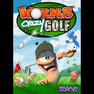 Worms Crazy Golf Steam Key GLOBAL [𝐈𝐍𝐒𝐓𝐀𝐍𝐓] 🔑✅
