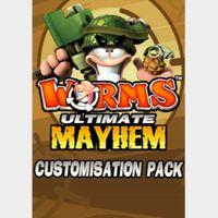 Worms Ultimate Mayhem - Customisation Pack DLC Steam Key GLOBAL