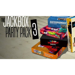 The Jackbox Party Pack 3 Steam Key GLOBAL