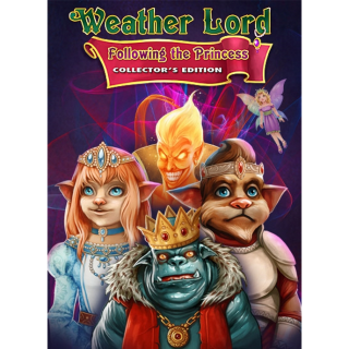 Weather Lord Following the Princess Collectors Edition Steam Key GLOBAL