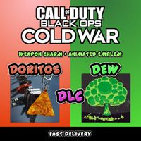 Call Of Duty Black Ops Cold War: Doritos Weapon Charm & Mountain Dew Emblem Code