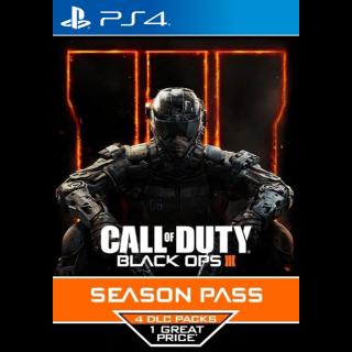 Call of Duty: Black Ops 3 - Season Pass UK PSN Key