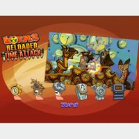 Worms Reloaded: Time Attack Pack Steam Key GLOBAL