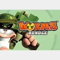 The Worms Bundle [4 Games] Steam Key GLOBAL