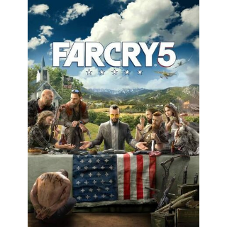 Far Cry 5 Uplay Key EUROPE 🔑