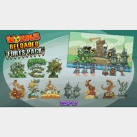 Worms Reloaded: Forts Pack Steam Key GLOBAL