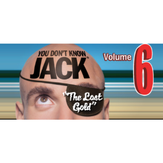YOU DON'T KNOW JACK Vol. 6 The Lost Gold Steam Key GLOBAL