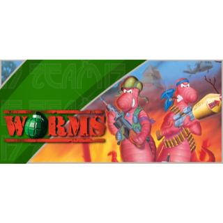 Worms (Original Game) Steam Key GLOBAL [𝐈𝐍𝐒𝐓𝐀𝐍𝐓] 🔑✅