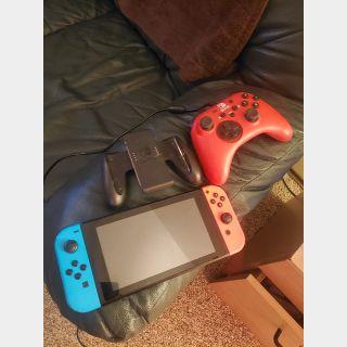 Nintendo switch /w 100+ digital games