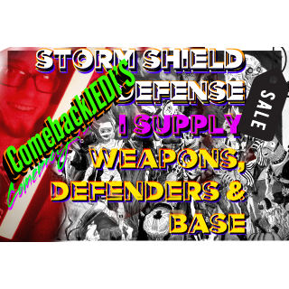 I will 10 Canny/Plankerton/Stonewood (ALL) STORM-SHIELD Defenses