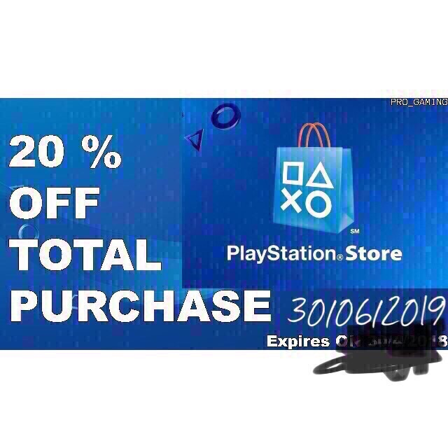 Discount code usa 🇺🇸 PlayStation Store