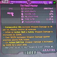 Weapon | Flood Masher\ Moded