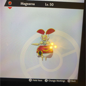 Other | 6iv red MAGEARMA